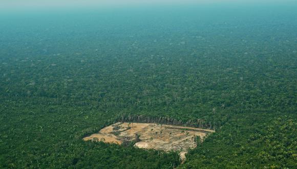 Esta imagen de setiembre de 2017 muestra un área deforestada en la región Amazonas, en Brasil. (Foto: AFP)