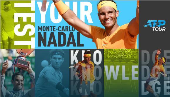 El tenista Rafael Nadal se mide este martes ante su compatriota Roberto Bautista en un torneo que ya conquistó once veces a lo largo de su carrera. (Foto: ATP)