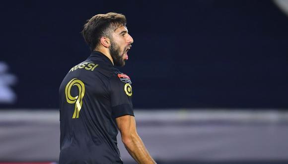 Diego Rossi convirtió el 1-0 a favor de Los Angeles FC