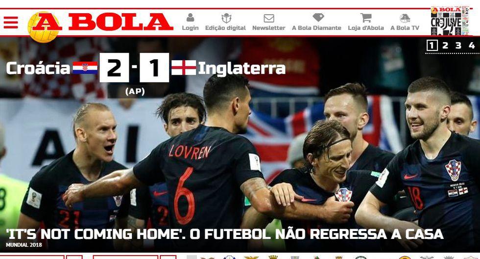 Portada de A Bola de Portugal.