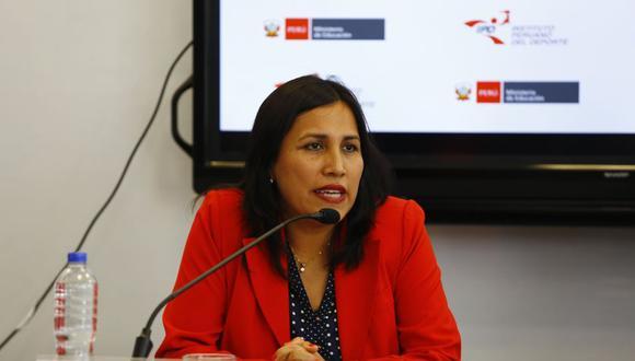 Flor Pablo, recientemente incorporada al Partido Morado, afirma que todas las posibilidades están abiertas de cara a su participación en las Elecciones 2021. (Foto: Hugo Curotto / GEC)