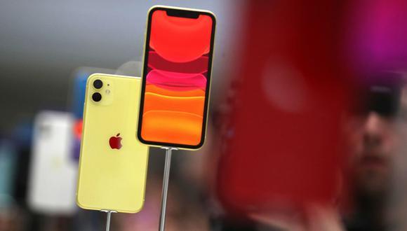 El iPhone 11 llegará con el iOS 13, una versión del sistema operativo que también estará disponible para los teléfonos iPhone 6S y los modelos posteriores. (Foto: AFP)