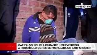 Detienen a falso policía durante intervención a prostíbulo