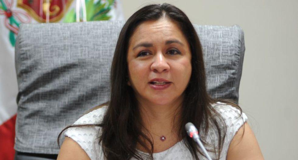 Marisol Espinoza sostuvo, en su momento, que la demanda fue presentada argumentando la vulneración de sus derechos en la Constitución y en el Reglamento del Parlamento. (Foto: Congreso)