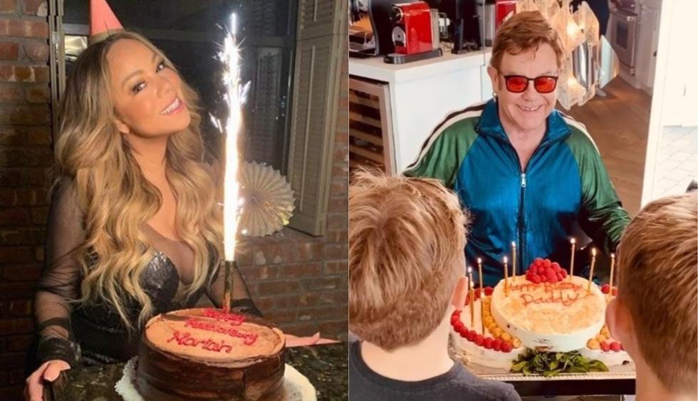 Celebridades que cumplieron años desde su aislamiento social. (Foto: Instagram)