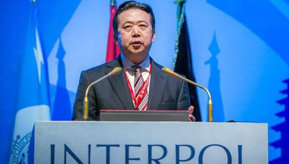 Informes indican que la Secretaría General de Inerpol en Lyon, Francia, ha recibido la renuncia Meng Hongwei como Presidente de Interpol con efecto inmediato. (Foto: EFE)
