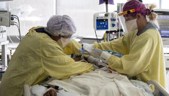 Coronavirus en Estados Unidos | Últimas noticias | Último minuto: reporte de infectados y muertos hoy, jueves 06 de mayo del 2021 | Covid-19. (Foto: EFE/EPA/ETIENNE LAURENT).