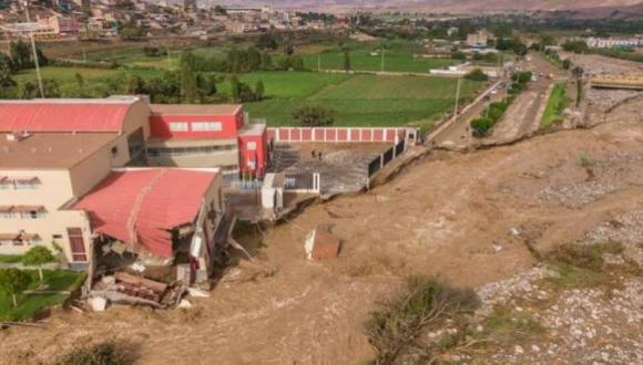 A la fecha, los huaicos han dejado un muerto, dos desaparecidos y casi 600 viviendas afectadas en Mirave (Tacna), así como en la provincia de Moquegua (Foto: cortesía)