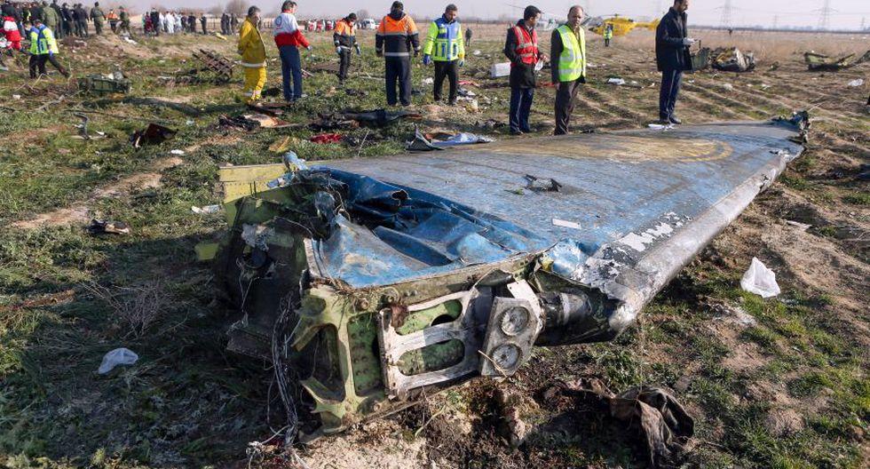 """Irán reconoce que derribó """"involuntariamente"""" el avión de Ukraine International Airlines. (AFP)"""