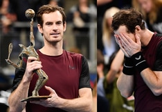 Andy Murray rompió en llanto tras ganar un torneo ATP después de 31 meses | VIDEO