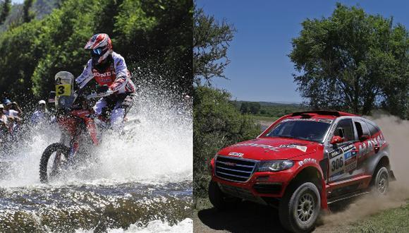 Sousa y Barreda-Bort sorprenden en primera etapa del Dakar