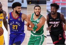NBA PlayOffs 2020: series, resultados y calendario completo de las finales de conferencia de la NBA