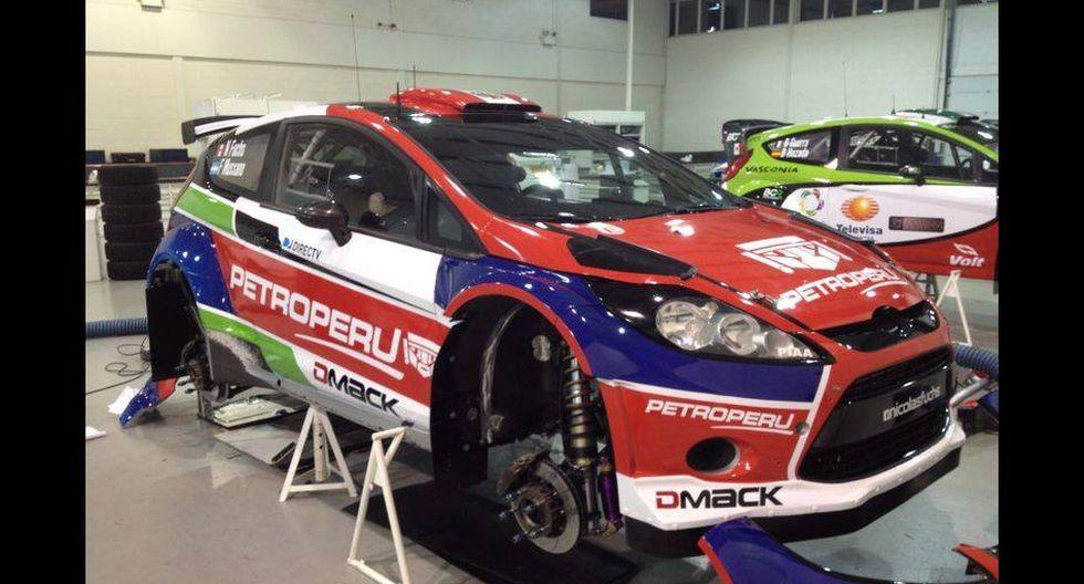 Conoce los autos con los que Fuchs competirá en rally mundial - 1
