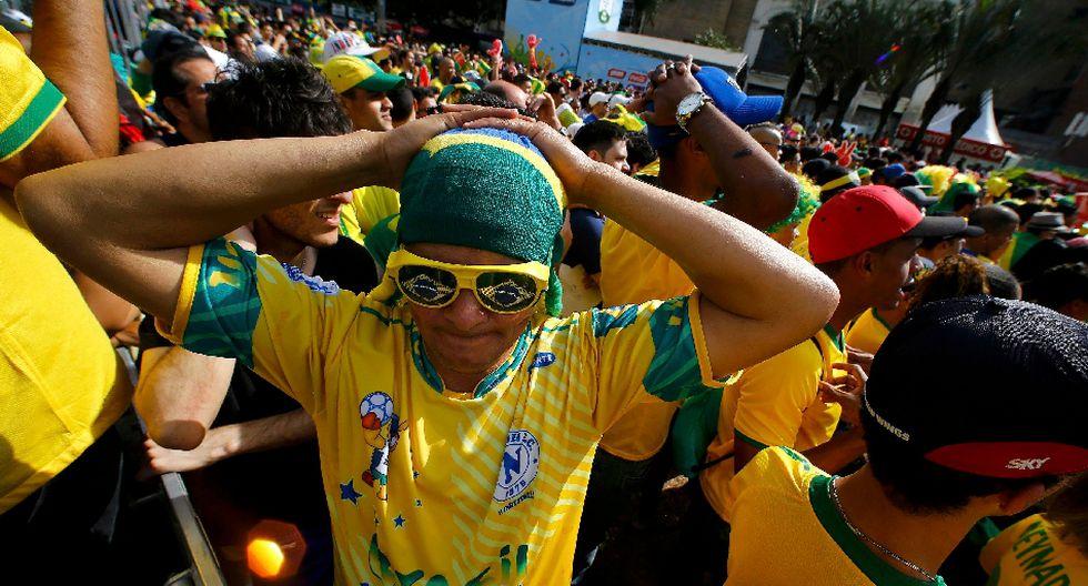 Brasil vs. Chile: los rostros de preocupación tras el alargue - 9