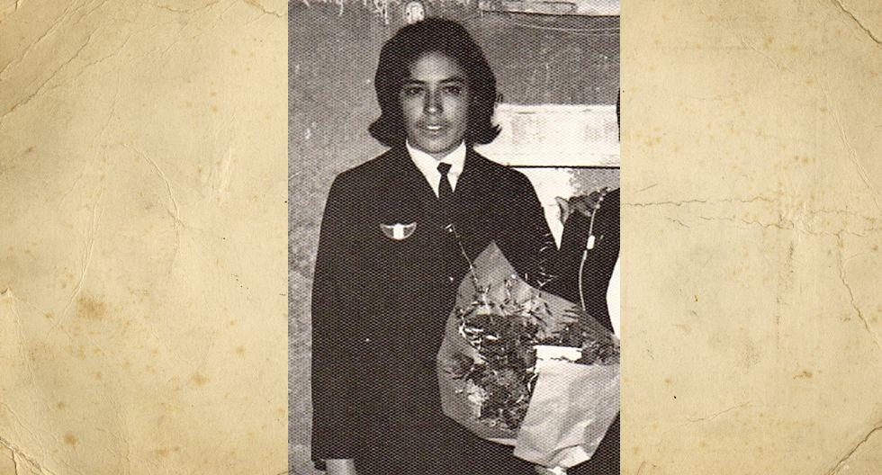 María Abanto vda de Subirana  terminó de estudiar la secundaria en la escuela nocturna, en 1970 (en la foto). En 1982 se casó y en 1983 nació su única hija, Katherine. Sin embargo, también acogió a cuatro sobrinos que hoy son también sus hijos.