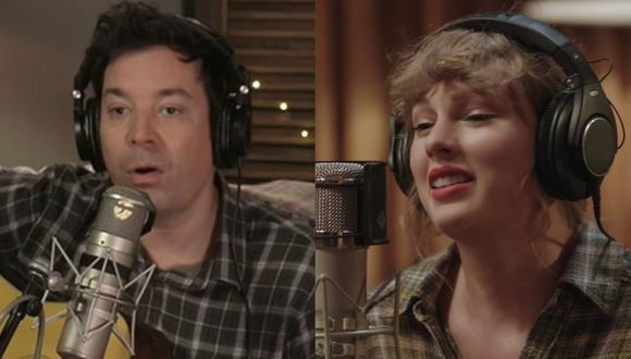 "Jimmy Fallon parodió el documental ""Folklore"" de Taylor Swift. (Foto: Captura de video)"