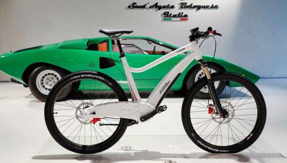 Lamborghini e Italtechnology trabajaron por cinco años en el desarrollo de estas bicicletas eléctricas. (Fotos: Lamborghini).