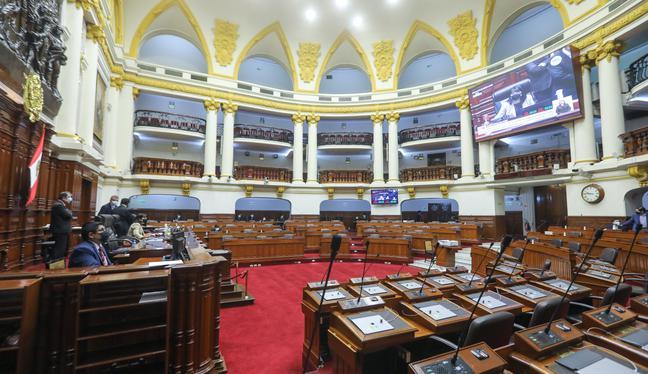 El nuevo Parlamento será conformado por 10 partidos políticos. Se avizora dos grandes bloques. Acción Popular puede tener un rol determinante. (Foto: Congreso)