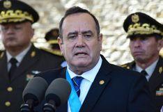Giammattei anuncia el cierre definitivo de la embajada de Venezuela en Guatemala