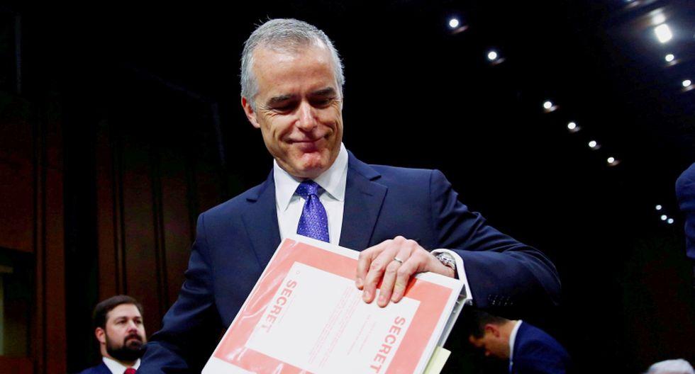 Andrew McCabe, ex director adjunto del FBI. (Foto: Reuters/Eric Thayer)