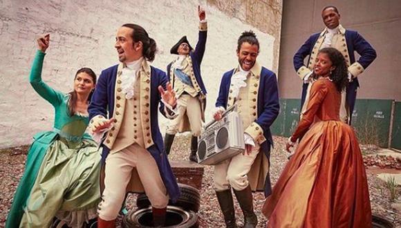 """""""Hamilton"""" es un musical exitoso de Broadway y que se ha presentado en otras ciudades importantes como Londres. (Foto: Instagram / @hamiltonmusical)"""