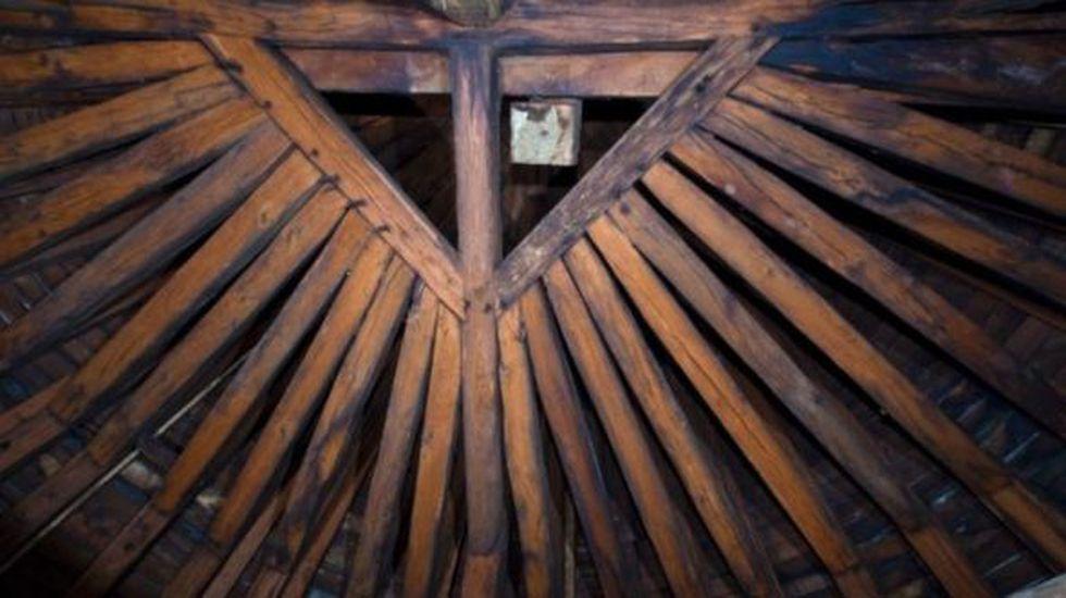 El bosque era una estructura construida con unas 1.300 vigas de roble. (Foto: catedral de Notre Dame de París)