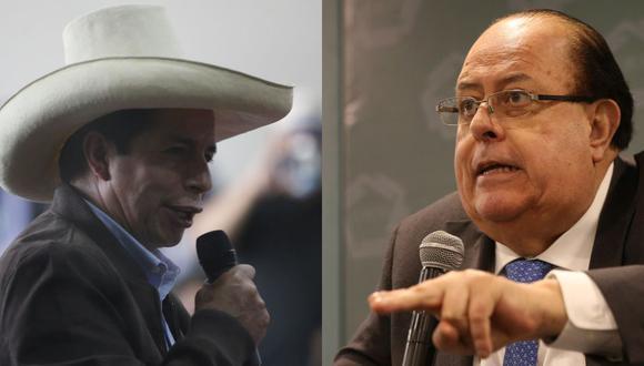 Pedro Castillo y Julio Velarde. (Foto composición: Jorge Cerdan / Manuel Melgar / GEC).