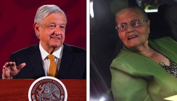 AMLO tuvo que dar explicaciones este lunes tras saludar el fin de semana en público a la madre del Chapo Guzmán.