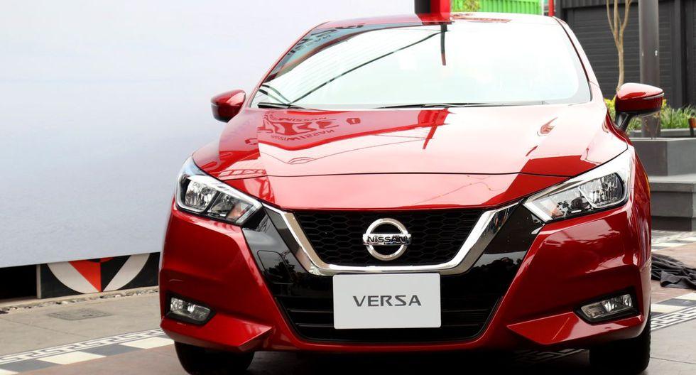 El nuevo Nissan Versa fue presentado en el Perú este mes.