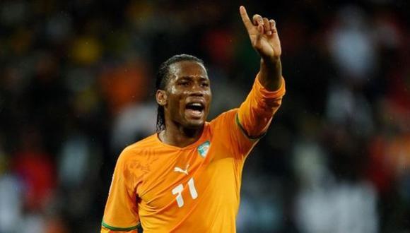 Drogba lidera los 23 convocados de Costa de Marfil para Mundial