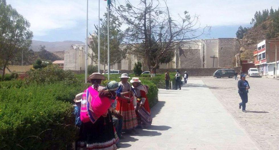 Arequipa: Volcán Sabancaya registró 70 sismos el domingo - 1