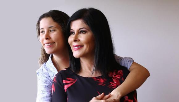 En estos momentos difíciles para Olga Zumarán, su hija María Fe y dios le dan la fortaleza que necesita (FOTO: Alessandro Currarino)
