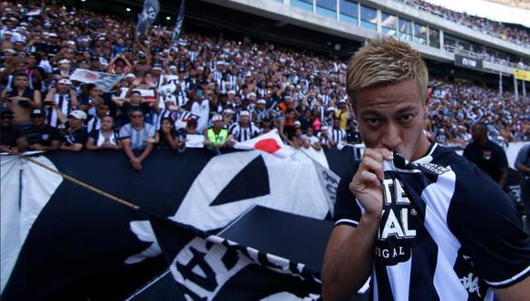 Keisuke Honda llegó a Botafogo en febrero de este año. (Foto: Botafogo)