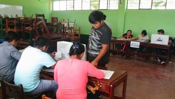 Elecciones 2018: comicios regionales y municipales serán el 7 de octubre. (Foto: archivo)