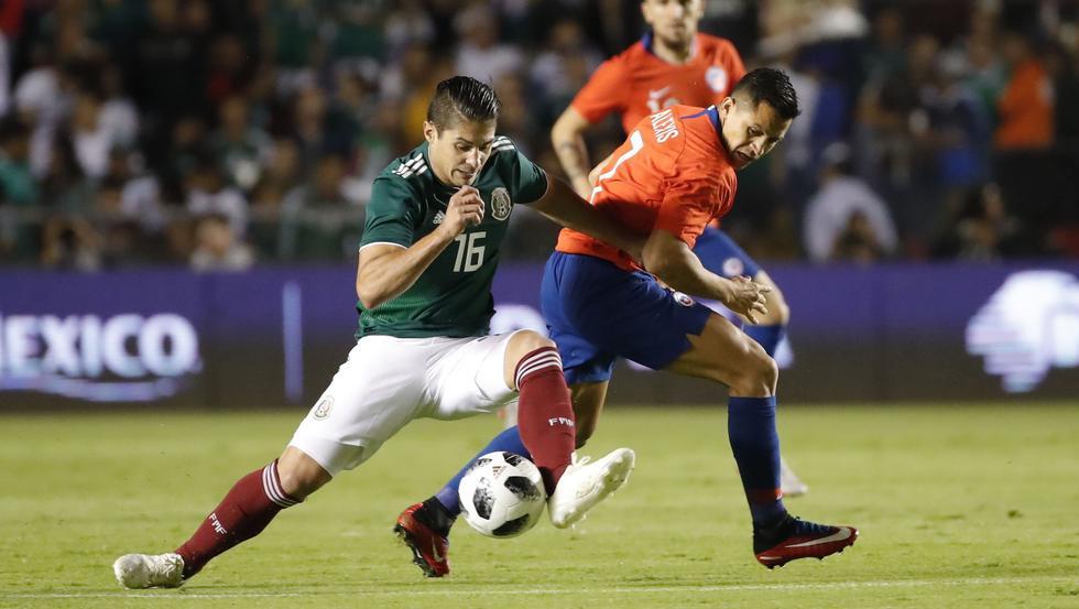 México vs. Chile EN VIVO: día, hora y canal de amistoso por fecha FIFA en Querétaro   EN DIRECTO. (Foto: AFP)