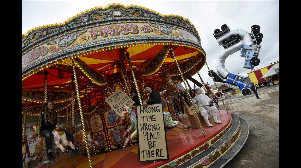 Un tour por el 'Disneylandia no apto para niños' de Banksy - 8