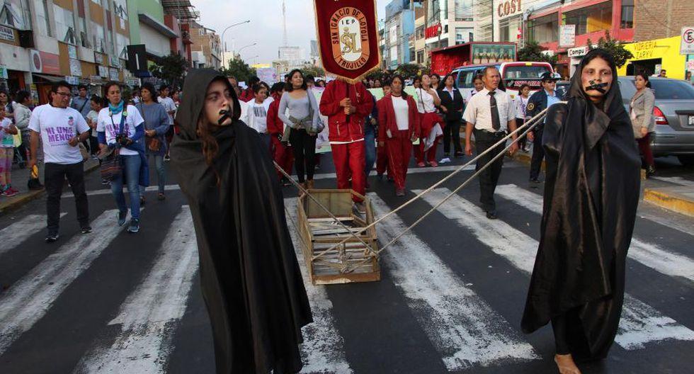 #NiUnaMenos: las movilizaciones en el interior del país [FOTOS] - 24