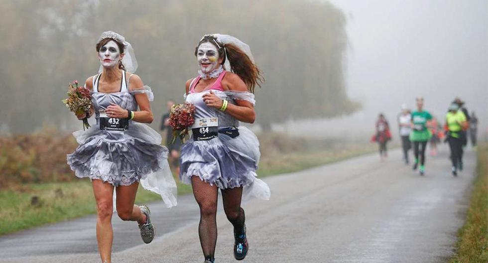 Desde Argentina hasta Alemania, conoce las 6 carreras por Halloween más aterradoras del mundo. (Foto: REUTERS)