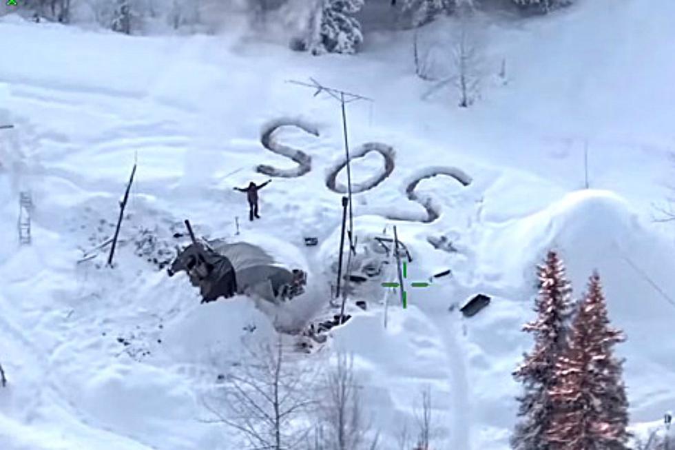 La policía rescató a Tyson Steele, de 30 años, después de sobrevivir 23 días con temperaturas de 25 grados bajo cero. (Foto: Captura)