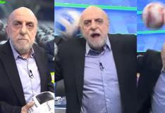 Horacio Pagani y su inesperada reacción cuando le tiraron pelotazo | VIDEO