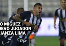 Pablo Míguez es nuevo jugador de Alianza Lima luego de seis años