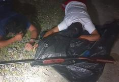 Puno: intervienen a cuatro presuntos asaltantes y les incautan una escopeta | VIDEO