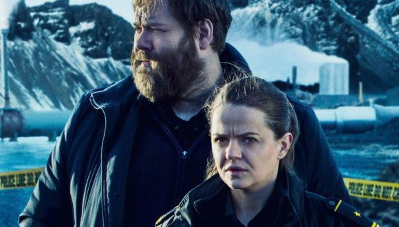 """Los actores Ólafur Darri Ólafsson y Ilmur Kristjánsdóttir en """"Trapped"""" (2015), uno de los mejores representantes del 'nordic noir'. (Foto: RÚV)"""