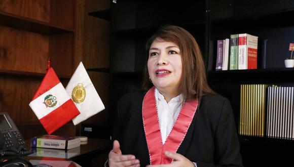 Rocio Gala fue designada jefa a la Unidad de Cooperación Judicial Internacional y Extradiciones del Ministerio Público.