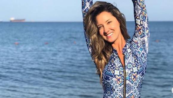 Daniella Álvarez, exMiss Colombia, reveló que se amputó pie izquierdo por una isquemia (Foto: Instagram)
