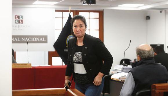 Keiko Fujimori cumple una orden de prisión preventiva de 36 meses en el penal anexo de Chorrillos. (Foto: Juan Ponce/Archivo GEC)