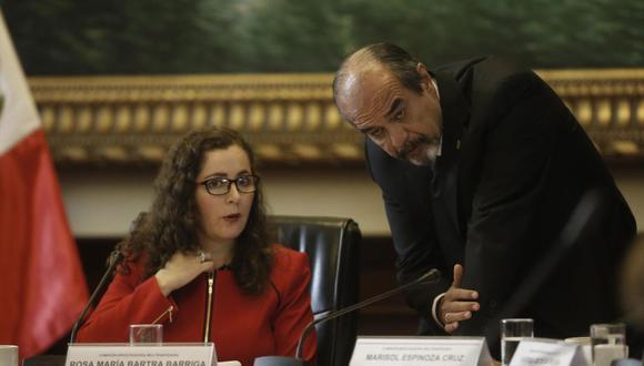Rosa Bartra postula a su primera reelección parlamentaria, mientras que Mulder va por su quinto período consecutivo. (Foto: El Comercio)