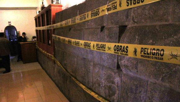 Cusco: denuncian daño a muro inca en restaurante turístico