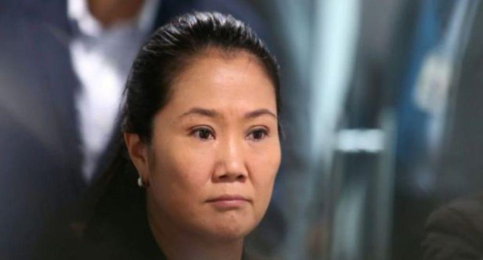 Keiko Fujimori afronta un pedido de 18 meses de prisión preventiva.  (GEC)