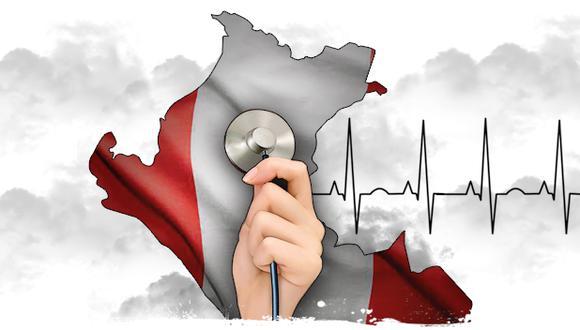 """""""No necesitamos aplausos protocolares; necesitamos poder avanzar en protocolos de salud que permitan mejorar la calidad de vida de los peruanos"""". (Ilustración: Rolando Pinillos)"""